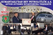 Bey Petrolcülük'ten örnek davranış: Şehit ve Gaziler Derneği'ne ücretsiz akaryakıt