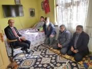 KUMARTAŞLI, AFRİN GAZİ'Sİ RESUL ÜNAL'I ZİYARET ETTİ