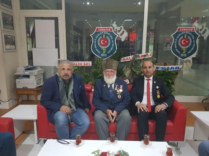 BORDO BERELİ KOMUTAN METE YARAR'DAN DERNEĞİMİZE ZİYARET