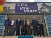 ŞEHİT BABALARI VE GAZİLER'DEN EMNİYET MÜDÜRLÜĞÜ'NE  ZİYARET