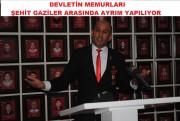 DEVLET MEMURLARI ŞEHİT GAZİLERİ AYRIŞTIRIYOR....