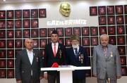 """ŞEHİT AİLELERİ VE GAZİLERDEN """"""""BARIŞ PINARI HAREKATINA""""DESTEK."""