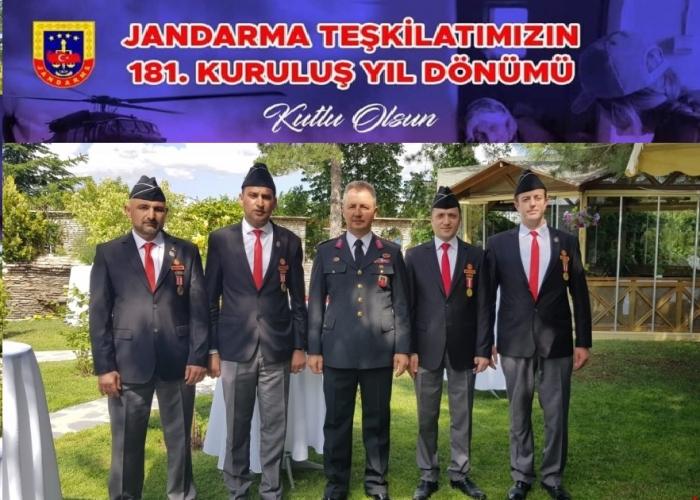 Başkan Kumartaşlı'nın Jandarma Teşkilatının 181'inci Kuruluş Yıl Dönümü Kutlama Mesajı